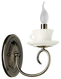 Настенный светильник <b>Arte Lamp</b> Teapot <b>A6380AP</b>-<b>1AB</b>, 40 Вт ...