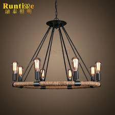 edison bulb pendant lighting. Delighful Bulb Hemp Rope Pendant Light With Edison Bulb Lights RT8108D8 Lighting P