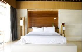 great zen inspired furniture. Sleek Zen Bedroom With Wood Panels Headboard Also White Bedding Great Inspired Furniture