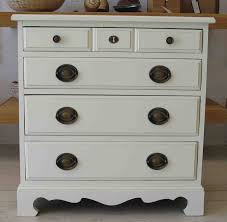 Small Bedroom Table Small Bed Side Tables With Classy White Painting And 5 Drawers As