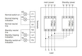3 phase automatic changeover switch circuit diagram images over the connecting diagram is suitable for 4 phase atse when use 3