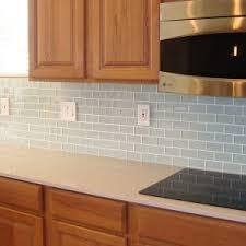 kitchen glass backsplash. Glass Tile Backsplash Pictures For Modern Kitchen Decoration With Wooden Countertop Design Ideas
