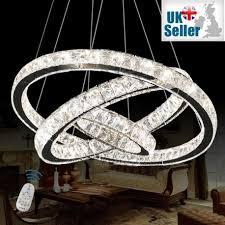 large crystal led chandelier