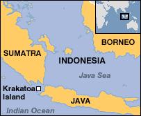 「1883 – Eruption of Krakatoa map」の画像検索結果