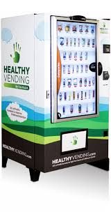 Interactive Vending Machines Gorgeous The HUMAN Touch Touch Screen Healthy Vending Machines