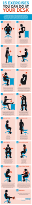 how to squeeze in more exercise no matter how long you re stuck at your desk