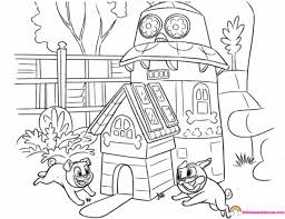 Puppy Dog Pals Bob Coloring Pages Puppy And Pets