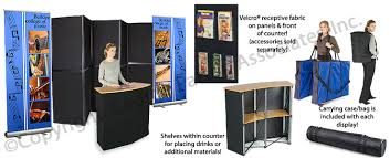 Folding Exhibition Display Stands