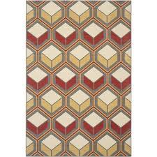 safavieh hampton dark grey indoor outdoor rug 5 1
