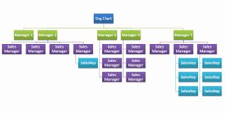 40 Excel Org Chart Template Markmeckler Template Design