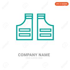 Business Pad Design Vector Shoulder Pad Company Logo Design Template Shoulder Pad Logotype