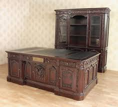 oval office resolute desk. Image Is Loading 2-Pc-7Ft-Mahogany-Presidential-Office-Resolute-Desk- Oval Office Resolute Desk L