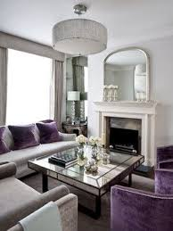 Love the muted greys and purple accents / sophisticated living room | Plum  Perfect | Pinterest | Purple accents, Room and Gray