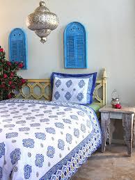 casablanca moroccan quatrefoil white duvet cover