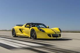 1451bhp Hennessey Venom GT Spyder becomes world's fastest ...