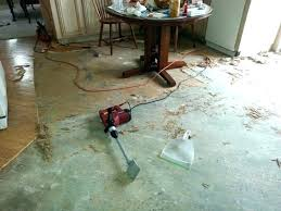 easiest removing adhesive from concrete tile slab way to remove floor old how