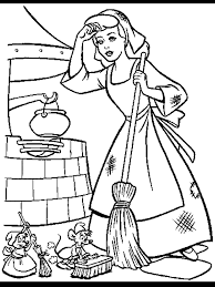 Cinderella Coloring Pages Cinderella Disney Cute Princess 10