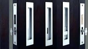 pocket door handles hardware lock long pulls pull black