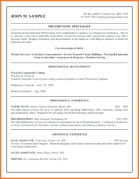 Phlebotomy Description For Resume. Cna Job Description For Resume ...