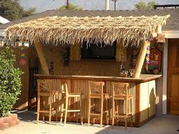 diy patio bar. The From-Scratch DIY. Tiki Bar Attached To A Patio Diy N