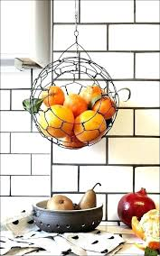 kitchen fruit basket counter baskets