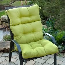 inspiring outdoor high back chair cushions high back outdoor chair cushions outdoor furniture style