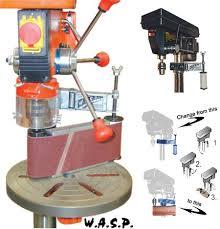 Along with belt sanders they produce other models of orbital palm sander and random orbital sander. Wasp Drill Press Sander Attachment Toolmonger