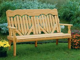 Amish Pine High New Walmart Patio Furniture As Wood Patio Bench