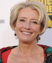 Whether you just cut your hair short or you are growing out your pixie cut, this swept back pixie is the perfect way to style your short hair. Emma Thompson Disney Wiki Fandom