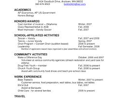 College Admission Resume Template Fancy High School Resume For