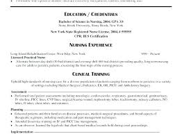 New Grad Nurse Resume New Grad Nurse Resume Example Letter Free New ...