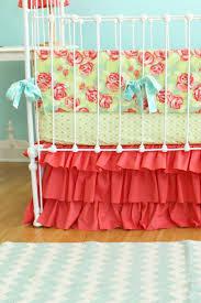 seerer crib skirt caden lane bedding caden lane bedding