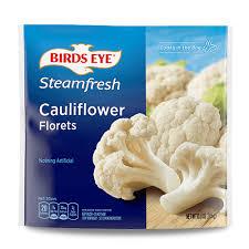 Frozen Cauliflower Florets Steam Bag Vegetables | Birds Eye