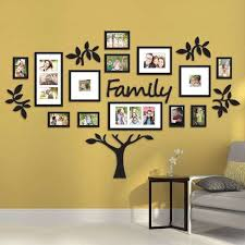 tree photo collage wall art family tree wall art picture frame beautiful hallway family tree templates