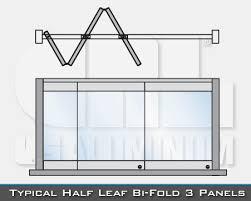 folding glass doors