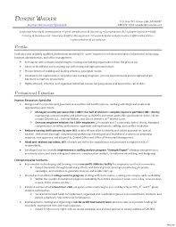 7 Resume For Human Resources Generalist Cover Note Objective