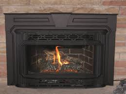 replace gas fireplace with wood insert fireplaces for perfect fireplace inserts