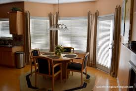 Kitchen Window Coverings Curtains And Drapes For Bay Windows Decorating Rodanluo