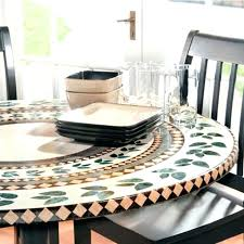 vinyl round tablecloth with elasticized edge