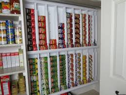 rotating canned food system diy