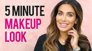 5 minute natural makeup tutorial huda beauty مكياج بدون مكياج بخمس دقائق