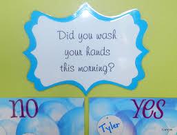 Tippytoe Crafts Hand Washing Activity
