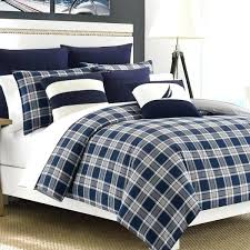 nautica king size bedding sets nautical king size bedding sets nautica eddington navy plaid 3 piece