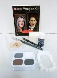 halloween makeup kits professional. ben nye vampire makeup kit hk-1 halloween makeup, horror, goths, gore \u2013 life of the party worldwide kits professional