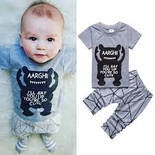 Baby Clothes Websites Stunning Infant Baby Boys 332 New 32pcs Clothing Sets UK Monster T Shirt