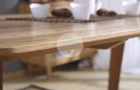 Urban Sticotti Gant Style Dining Table Solid Oak 160cm Natural