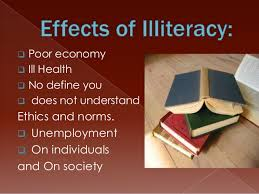 illiteracy and its causes and solution in