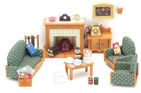 Sylvanian Families Bedroom Furniture Set Buy Sylvanian Families Deluxe Living Room Set