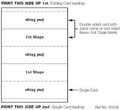 folding card template folding card thank you note sized folding card folding safety knife