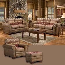 rustic living room furniture sets. Sierra Lodge 4 Piece Living Room Set. By American Furniture Classics Rustic Sets I